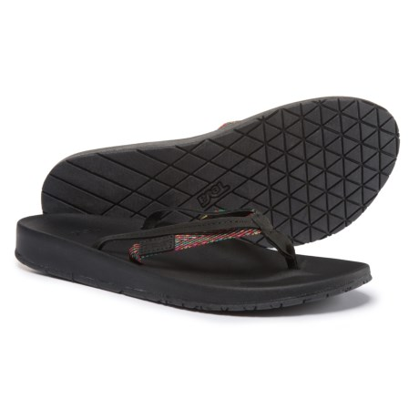 5aea774c4 Teva Azure 2-Strap Flip-Flops (For Women) in Black Multi