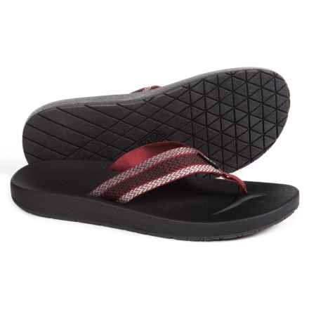 Teva Azure Flip-Flops (For Men) in Fired Brick - Closeouts