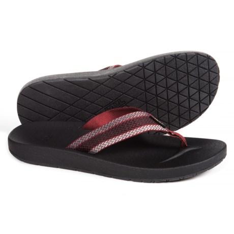 Teva Azure Flip-Flops (For Men) in Fired Brick