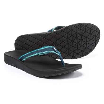 Teva Azure Flip-Flops (For Women) in Raya Blue - Closeouts