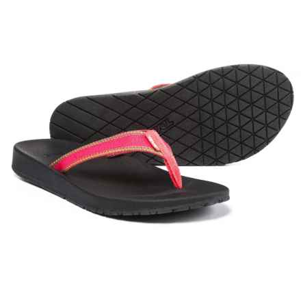Teva Azure Flip-Flops (For Women) in Raya Pink - Closeouts