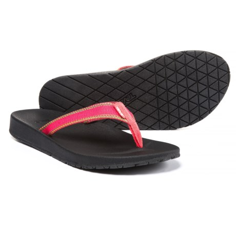 Teva Azure Flip-Flops (For Women) in Raya Pink