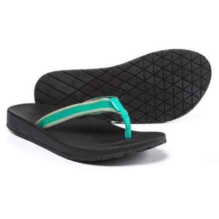 Teva Azure Flip-Flops (For Women) in Teal - Closeouts
