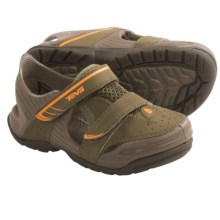 Teva Barracuda Sport Sandals (For Toddlers) in Olive - Closeouts