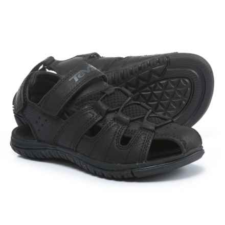 Teva Bayfront Sport Sandals (For Boys) in Black - Closeouts