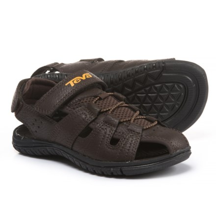 0c96ee5c1411 Clearance. Teva Bayfront Sport Sandals (For Boys) in Brown - Closeouts