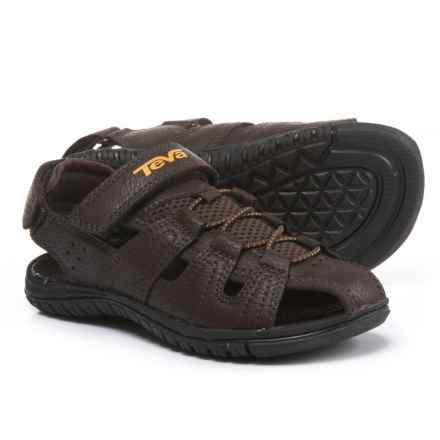 Teva Bayfront Sport Sandals (For Boys) in Brown - Closeouts