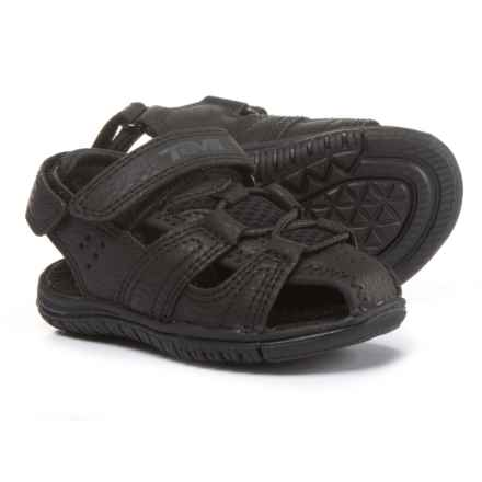 Teva Bayfront Sport Sandals (For Infant and Toddler Boys) in Black - Closeouts