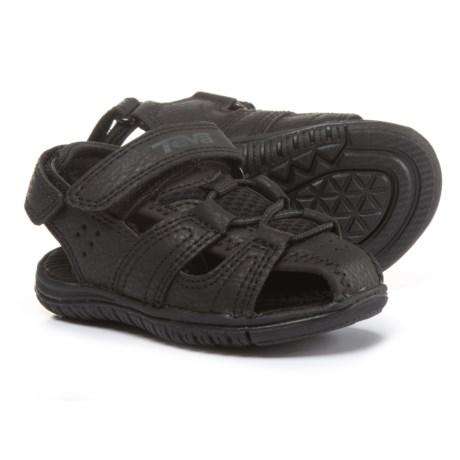 Teva Bayfront Sport Sandals (For Infant and Toddler Boys) in Black