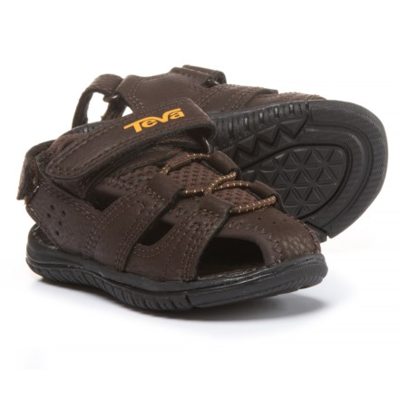 18f75d658 Teva Bayfront Sport Sandals (For Infant and Toddler Boys) in Brown -  Closeouts