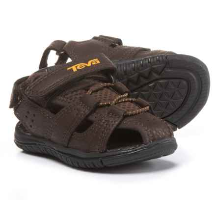 Teva Bayfront Sport Sandals (For Infant and Toddler Boys) in Brown - Closeouts