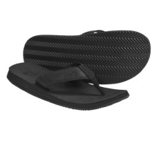 Teva Benson Thong Sandals - Flip-Flops (For Men) in Black - Closeouts