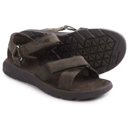 Teva Berkeley Sandals (For Men) in Turkish Coffee - Closeouts