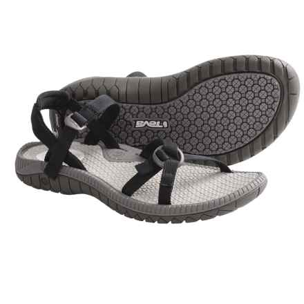 Teva Bomber Sandals (For Women) in Black - Closeouts