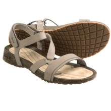 Teva Cabrillo Crossover Sandals - Leather (For Women) in Dune - Closeouts