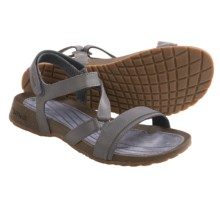 Teva Cabrillo Crossover Sandals - Leather (For Women) in Slate - Closeouts