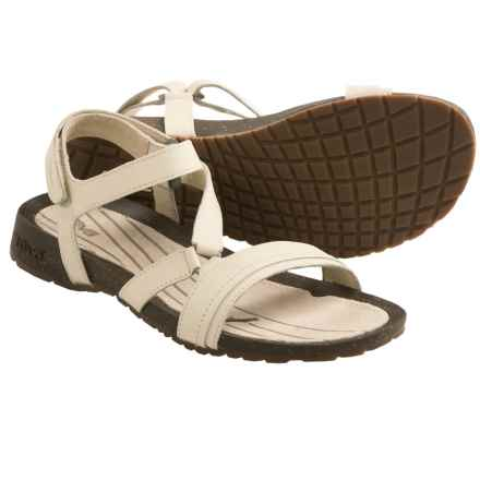 Teva Cabrillo Crossover Sandals - Leather (For Women) in Whitecap Grey - Closeouts