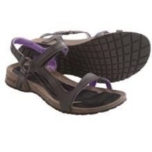 Teva Cabrillo Universal Sandals - Leather (For Women) in Black/Purple - Closeouts