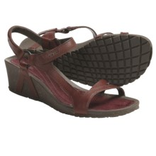 Teva Cabrillo Universal Wedge Sandals (For Women) in Burgundy - Closeouts