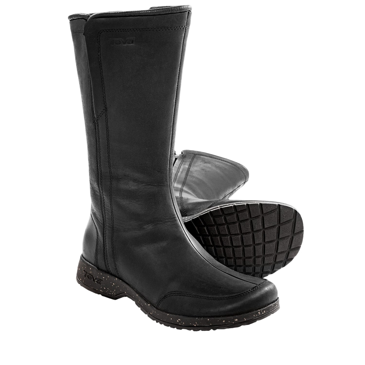 teva capistrano boots waterproofed leather for