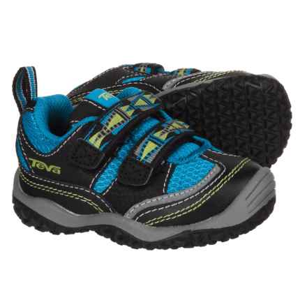 Teva Cartwheel Sneakers (For Infant and Toddler Boys) in Black/Blue - Closeouts