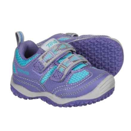 Teva Cartwheel Sneakers (For Infant and Toddler Girls) in Light Blue/Purple - Closeouts