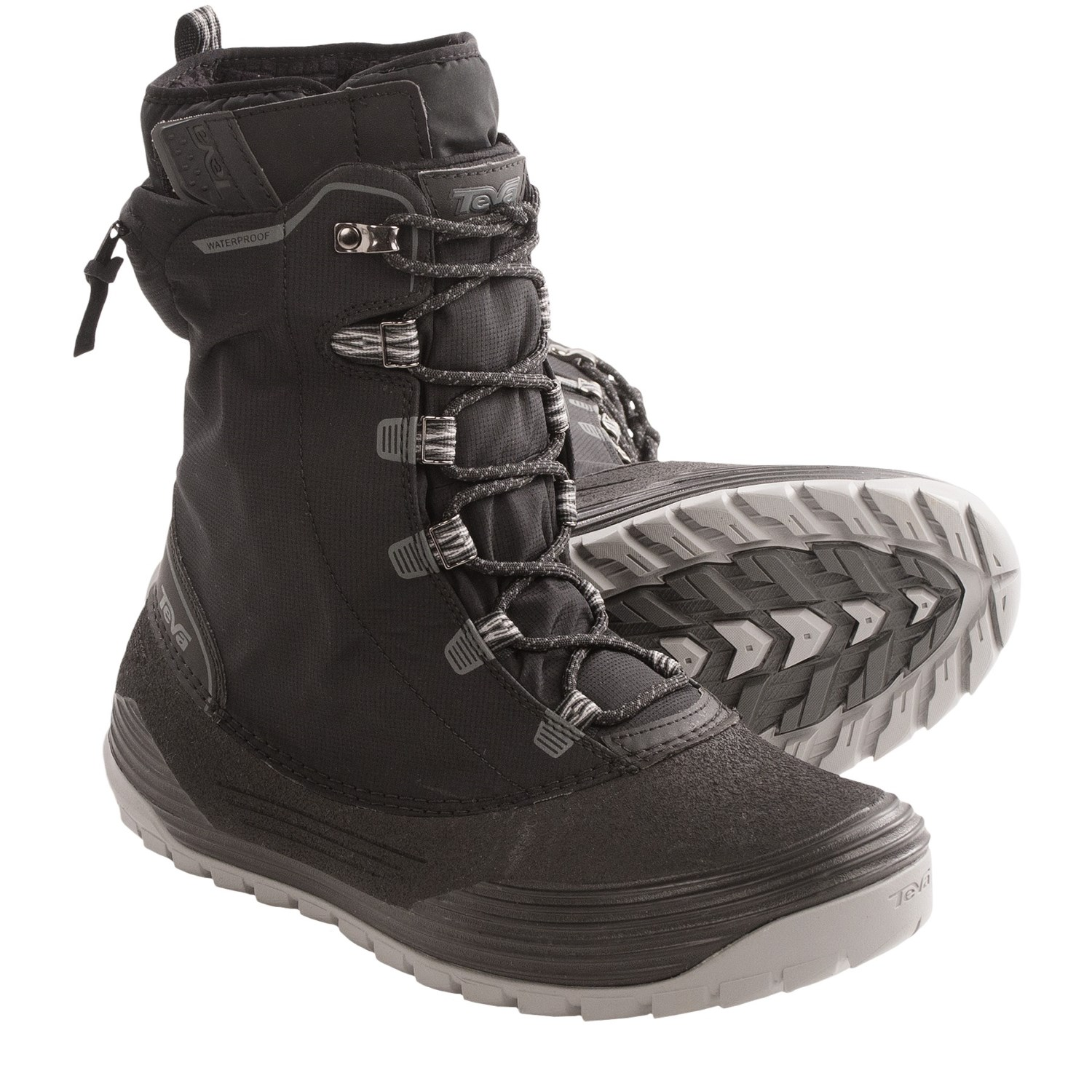 Mens Black Snow Boots | Santa Barbara Institute for Consciousness ...