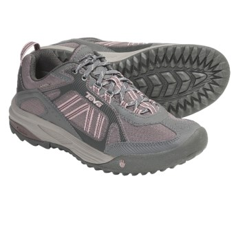 Teva Charge Light Trail Shoes - Waterproof (For Women) in Iron