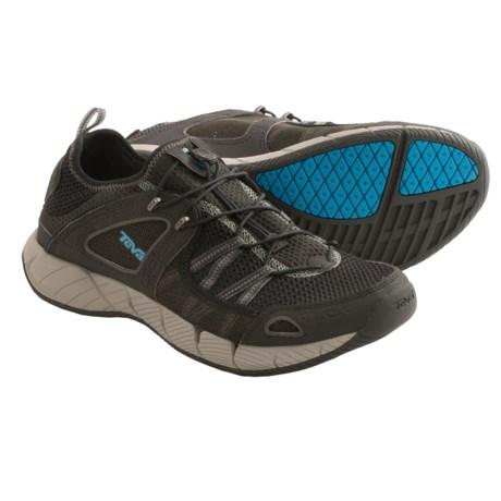 Teva Churn Shoes - Amphibious (For Men) in Black
