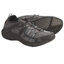 Teva Churn Shoes - Amphibious (For Men) in Charcoal Grey - Closeouts