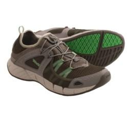 Teva Churn Shoes - Amphibious (For Men) in Grey/Green