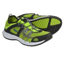 Teva Churn Shoes - Amphibious (For Men) in Lime Green - Closeouts