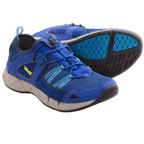 Teva Churn Shoes - Amphibious (For Men) in Olympian Blue