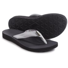 Teva Classic Flip-Flops (For Women) in Azura Light Grey - Closeouts