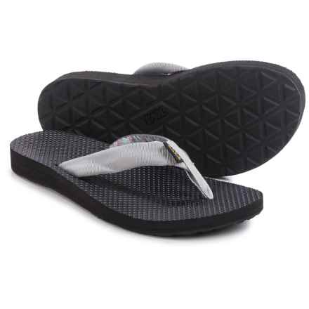 Teva Classic Flip-Flops (For Women) in Azura Light Grey - Closeouts
