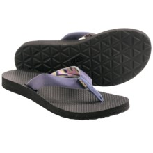 Teva Classic Flip-Flops (For Women) in Azura Vintage Indigo - Closeouts