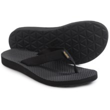 Teva Classic Flip-Flops (For Women) in Black - Closeouts