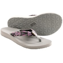 Teva Classic Flip-Flops (For Women) in Mosaic Pink - Closeouts