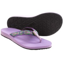 Teva Classic Flip-Flops (For Women) in Mosaic Purple - Closeouts