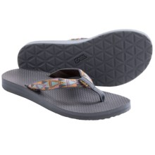 Teva Classic Flip-Flops (For Women) in Mosaic Vintage Indigo - Closeouts