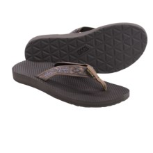 Teva Classic Flip-Flops (For Women) in Old Lizard Brown - Closeouts