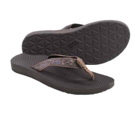 Teva Classic Flip-Flops (For Women) in Old Lizard Brown - Closeouts