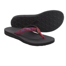 Teva Classic Flip-Flops (For Women) in Old Lizard Red - Closeouts