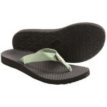 Teva Classic Flip-Flops (For Women) in Stone Green - Closeouts