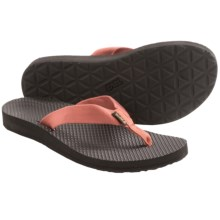 Teva Classic Flip-Flops (For Women) in Terra Cotta - Closeouts