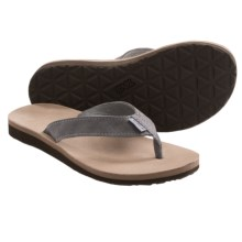 Teva Classic Flip Leather Diamond Sandals (For Women) in Tradewinds - Closeouts
