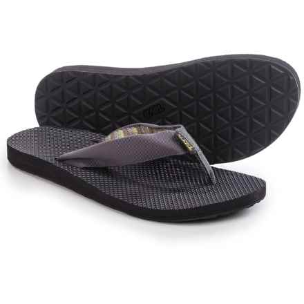 Teva Classic Sandals - Flip-Flops (For Men) in Azura Grey - Closeouts