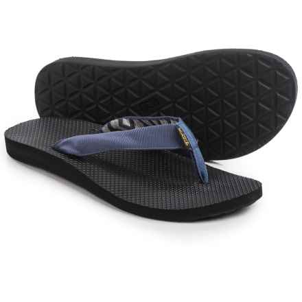 Teva Classic Sandals - Flip-Flops (For Men) in Azura Vintage Indigo - Closeouts