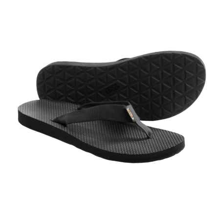 Teva Classic Sandals - Flip-Flops (For Men) in Black - Closeouts