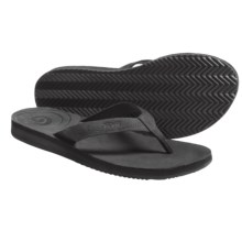 Teva Cozumel Sandals - Flip-Flops (For Women) in Black - Closeouts
